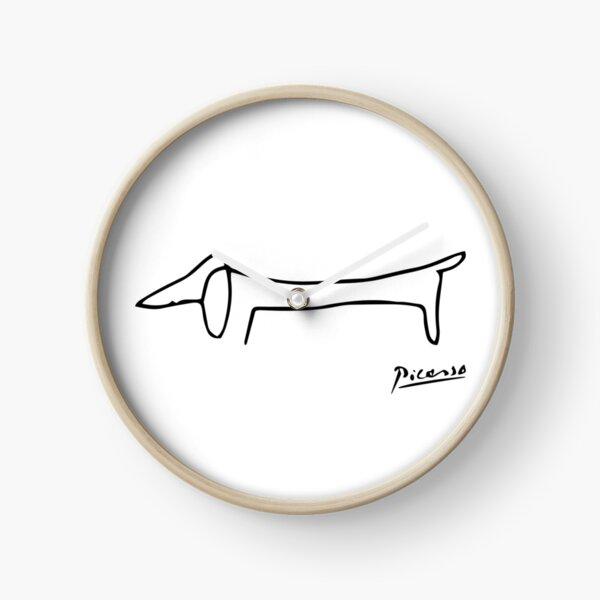 Dog (Lump) Artwork, Picasso Sketch Reproduction Clock