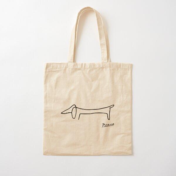 Dog (Lump) Artwork, Picasso Sketch Reproduction Cotton Tote Bag