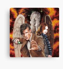 Matt Smith ; The Time of Angels Canvas Print