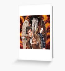 Matt Smith ; The Time of Angels Greeting Card