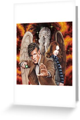 Matt Smith ; The Time of Angels by Colin Howard