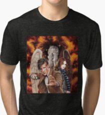 Matt Smith ; The Time of Angels Tri-blend T-Shirt