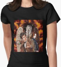 Matt Smith ; The Time of Angels Women's Fitted T-Shirt