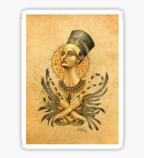 Nefertiti Sticker
