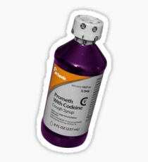 Codeine/lean Sticker
