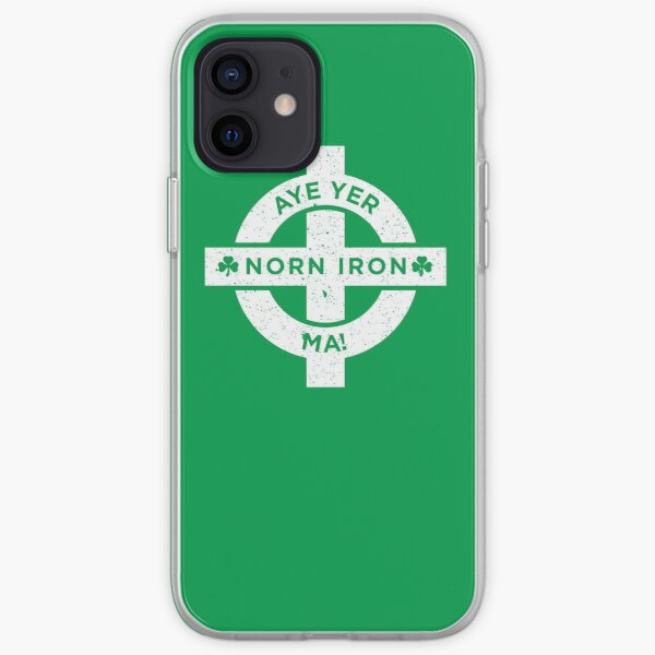 Northern Ireland - Norn Iron Football Aye Yer Ma iPhone Soft Case