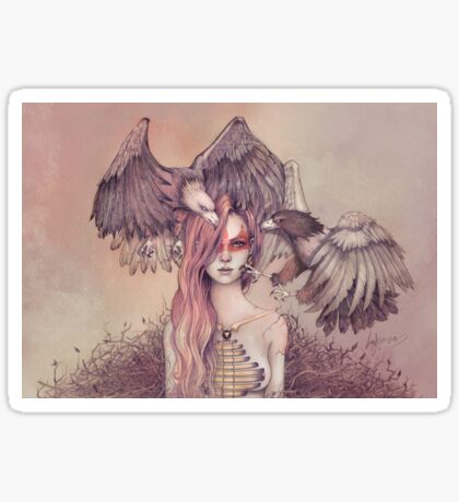 Eagle princess Sticker