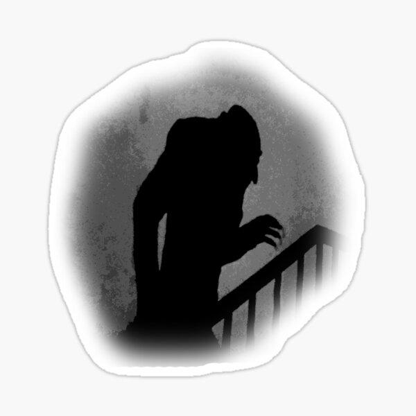 Nosferatu Silhouette Sticker