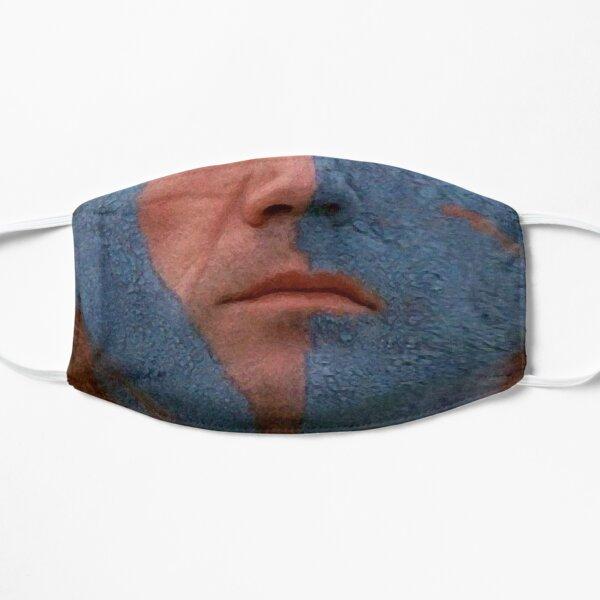 Braveheart Face Paint Flat Mask