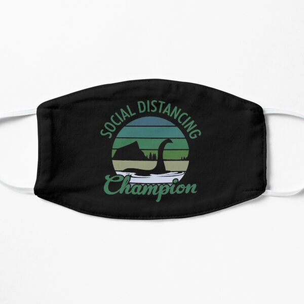 Loch Ness Monster Social Distancing Champion Mask