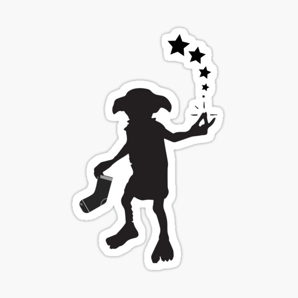 Dobby be free Silhouette  Sticker