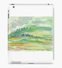 Green Landscape iPad Case/Skin