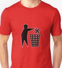 anti nazi human respect against racism T-Shirt