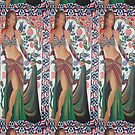 Beautiful Exotic Belly Dancer Woman by taiche