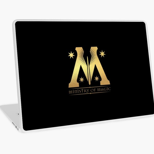 Ministry of Magic Laptop Skin