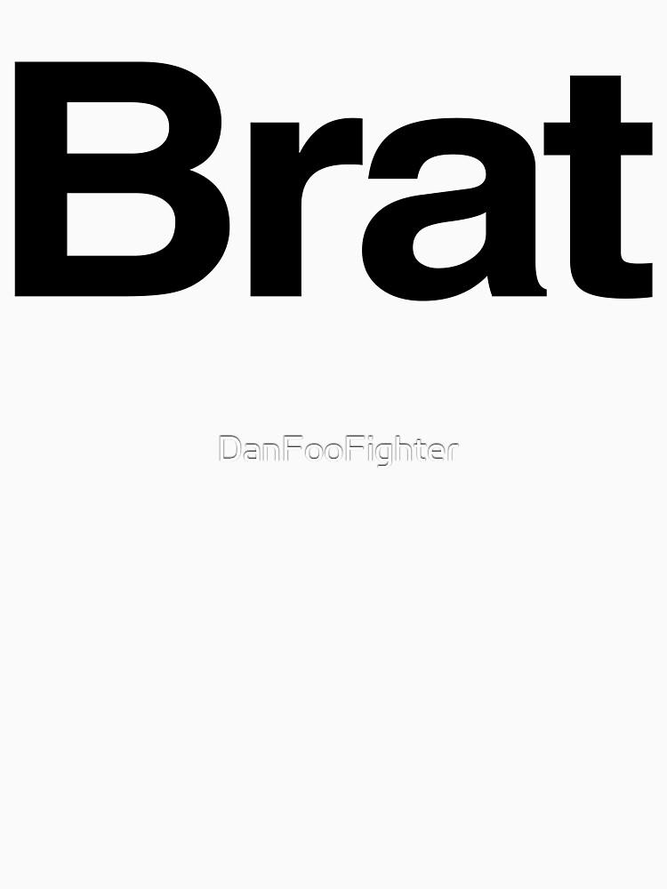 TShirtGifter presents: BRAT (as seen on Robert Downey Jr) | Unisex T-Shirt