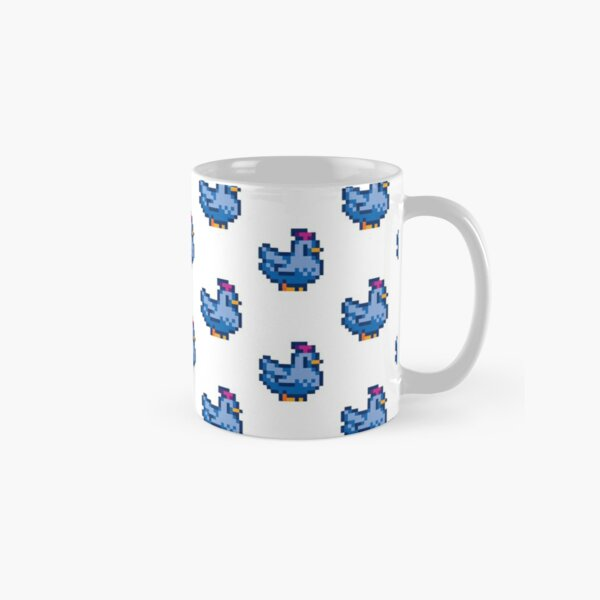 Stardew Valley Blue Chicken Classic Mug