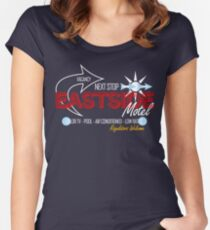 Eastside Motel Women's Fitted Scoop T-Shirt