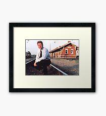 OG thrill bill clinton Framed Print
