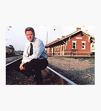 OG thrill bill clinton Photographic Print