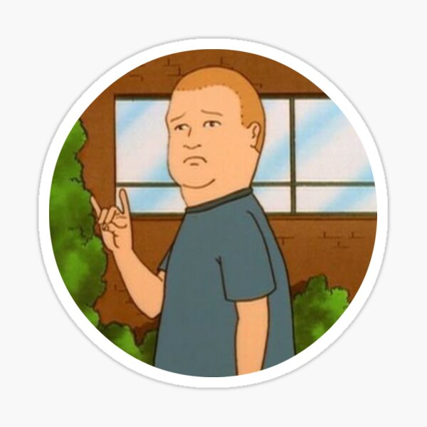 Rock On, Bobby Hill Sticker