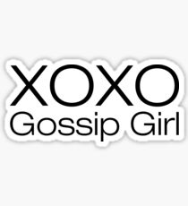 XOXO gossip girl Sticker