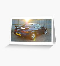 Toyota MR2 GT T-Bar Greeting Card
