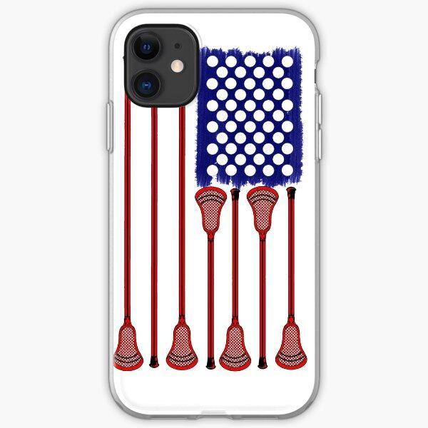 Lacrosse AmericasGame iPhone Soft Case