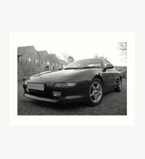 Toyota MR2 GT T-Bar Art Print
