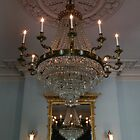 Chandelier Refelctions by Heather Crough