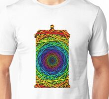 Doctor Who's TARDIS - Rainbow Vortex Abstract Unisex T-Shirt
