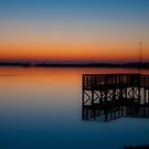 First Light at the lake by Jamal Williams