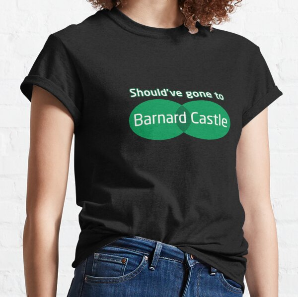 Barnard Castle Dominic Cummings Joke Classic T-Shirt