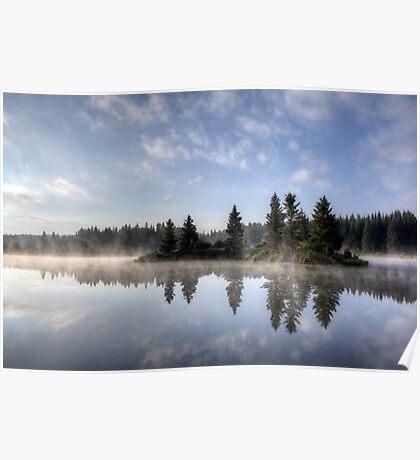 Mornings Mist Poster