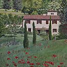 Spring in the Tuscan Hills, Italy by Freda Surgenor