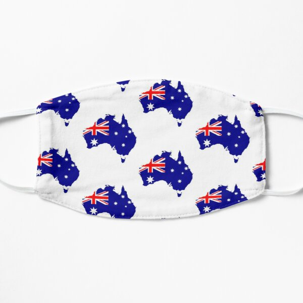 Australian map flag Mask