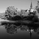 Knowlton United Church by Joanne  Bradley