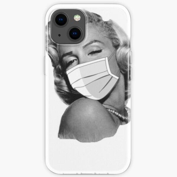 Masked Marilyn Monroe iPhone Soft Case