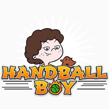 Handball Boy by brendanwatson