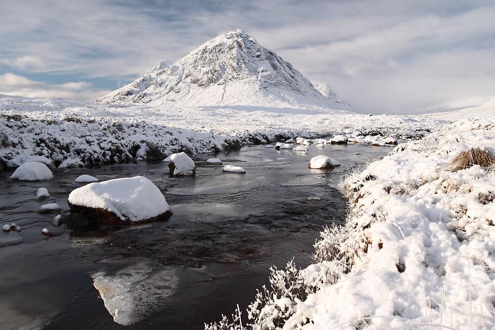 Glencoe winter landscape by Grant Glendinning