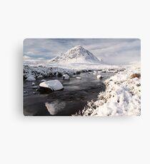 Glencoe winter landscape Canvas Print