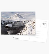 Glencoe winter landscape Postcards