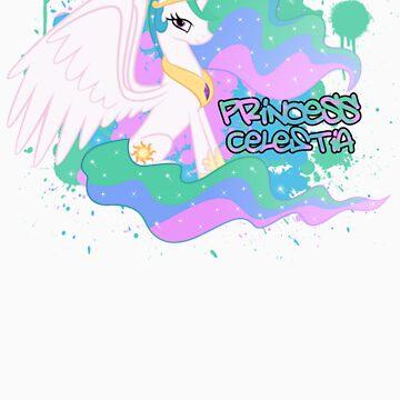 Princess Celestia  by eeveemastermind