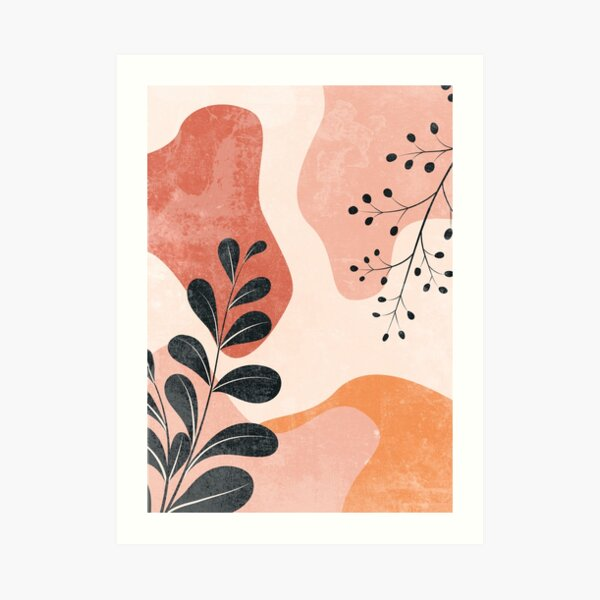 Monstera Graphic Art Print