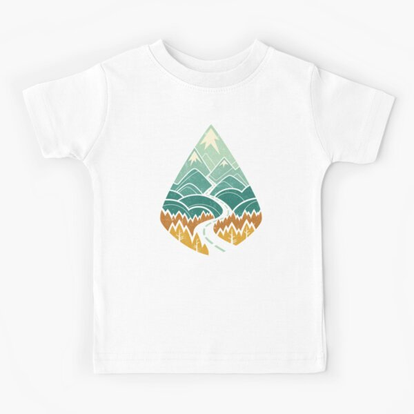 The Road Goes Ever On: Autumn Kids T-Shirt