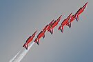 Red Arrows - Dunsfold 2012 by Colin  Williams Photography