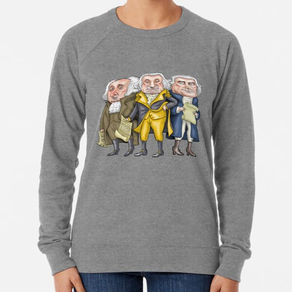 Founding Fathers   By Graeme MacKay Lightweight Sweatshirt