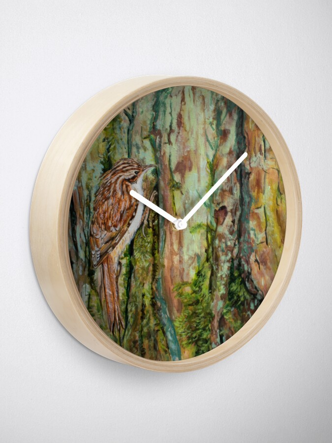 Alternate view of Treecreeper Clock