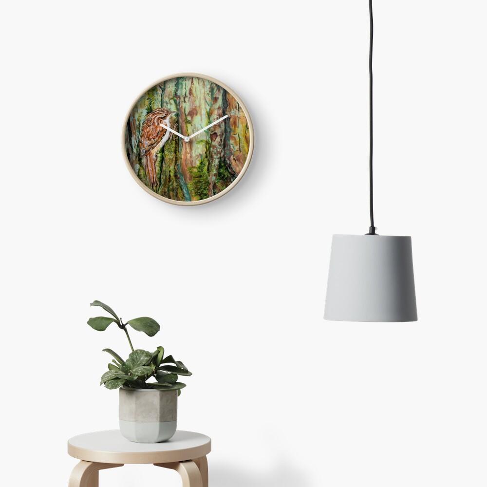 Treecreeper Clock