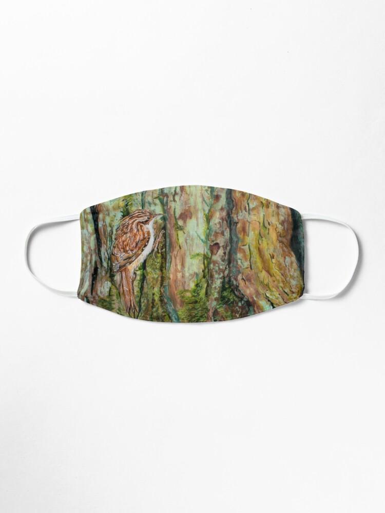 Alternate view of Treecreeper Mask